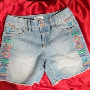 Old Navy girls size 7 shorts